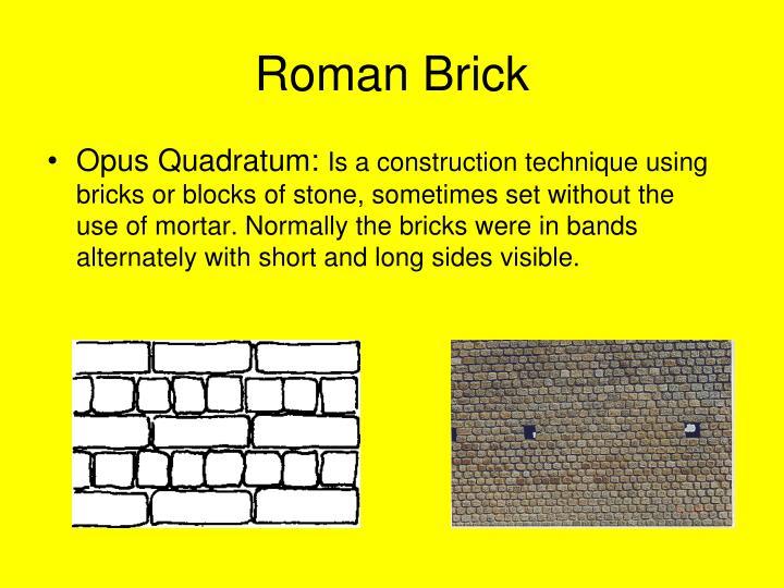 Roman brick1