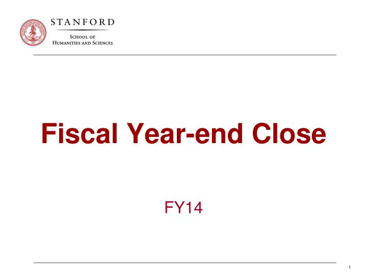 ppt - fiscal year-end close powerpoint presentation