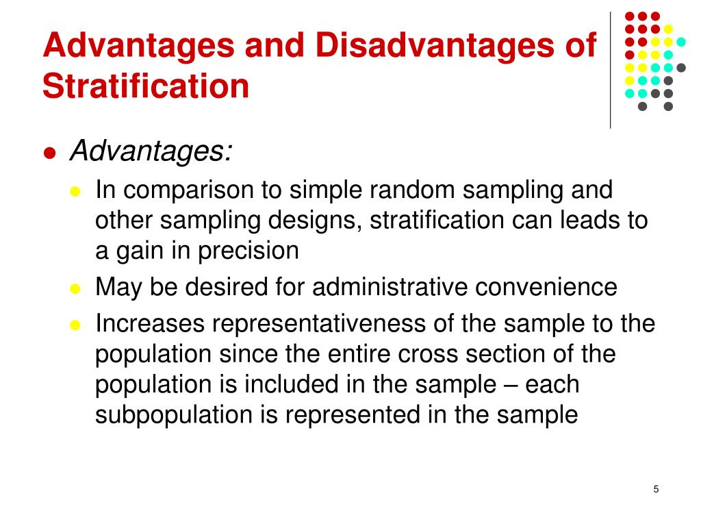PPT - Stratified Sampling PowerPoint Presentation - ID:6015867