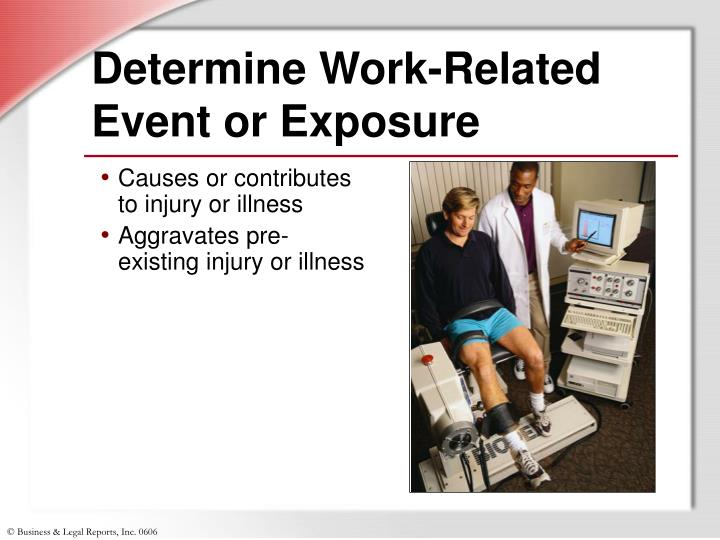Determine Work-Related