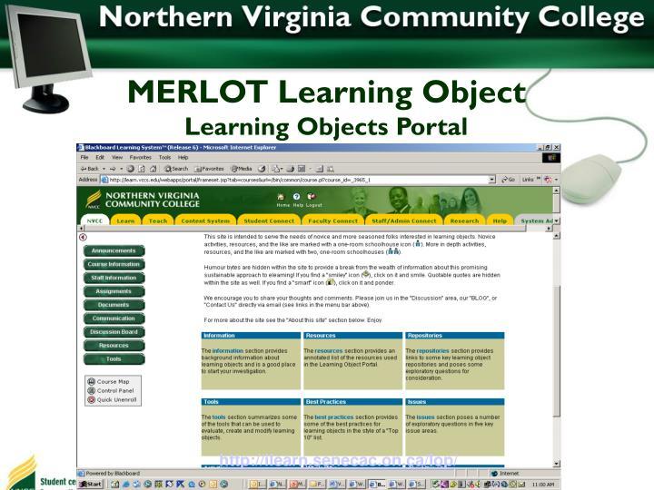 MERLOT Learning Object
