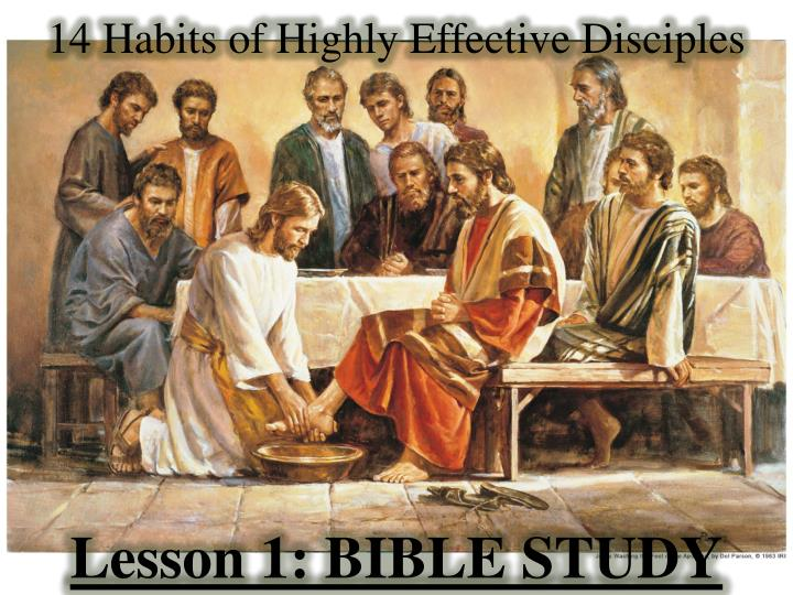 14 habits of highly effective disciples