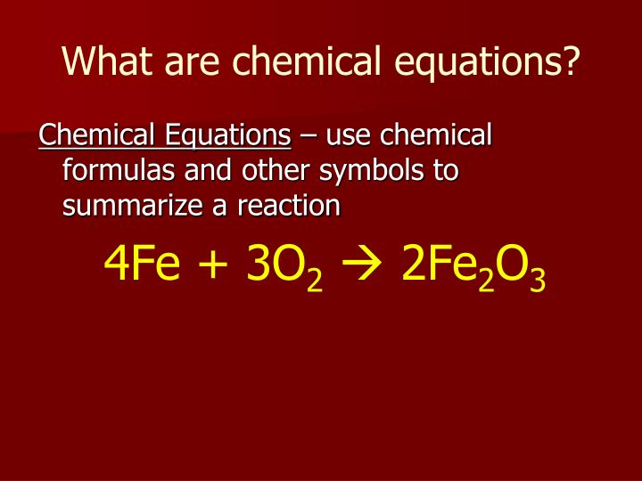 Ppt Chapter 9 Chemical Reactions Powerpoint Presentation Id