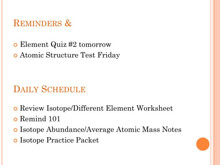 PPT - Reminders & Daily Schedule PowerPoint Presentation - ID:6016224