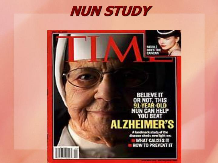 NUN STUDY