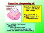 iterative deepening a1