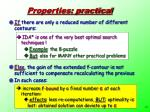 properties practical