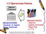 1 3 operaciones pasivas
