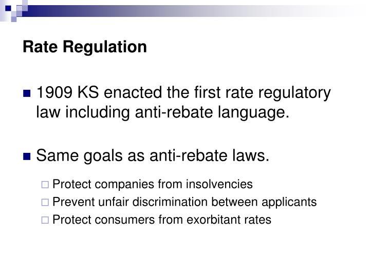 Rate Regulation