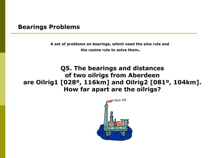 Bearings Problems
