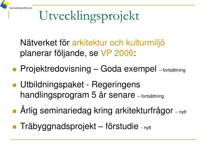 Utvecklingsprojekt
