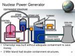 nuclear power generator