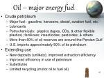 oil major energy fuel