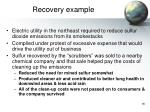 recovery example