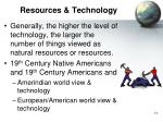 resources technology