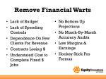 remove financial warts1