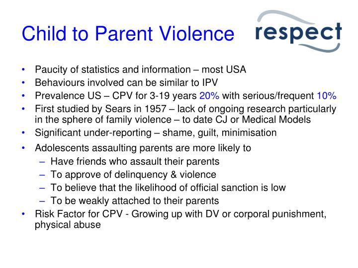 Child to Parent Violence