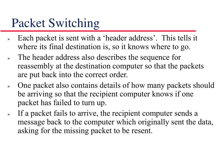 Packet switching1