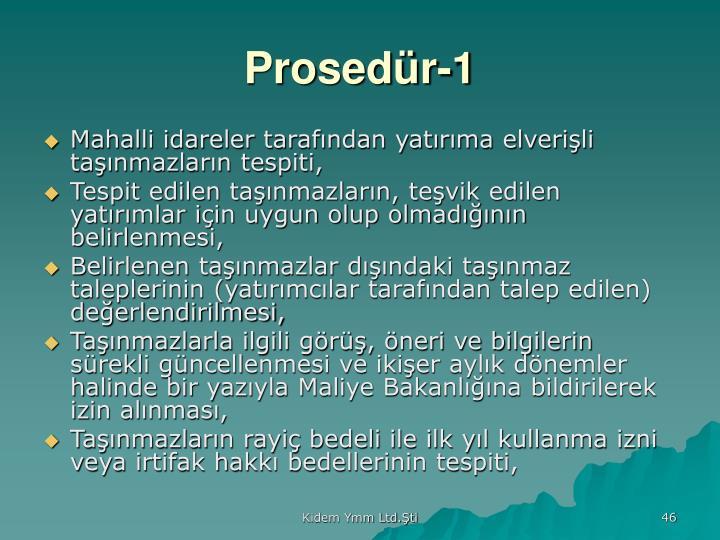 Prosedür-1