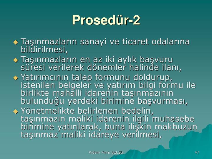 Prosedür-2