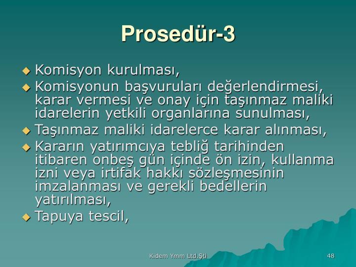 Prosedür-3