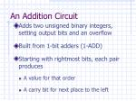an addition circuit