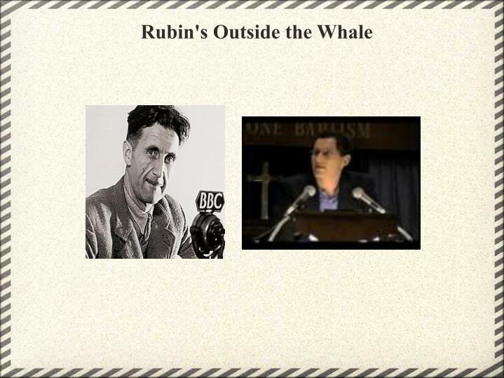 Rubin's Outside the Whale