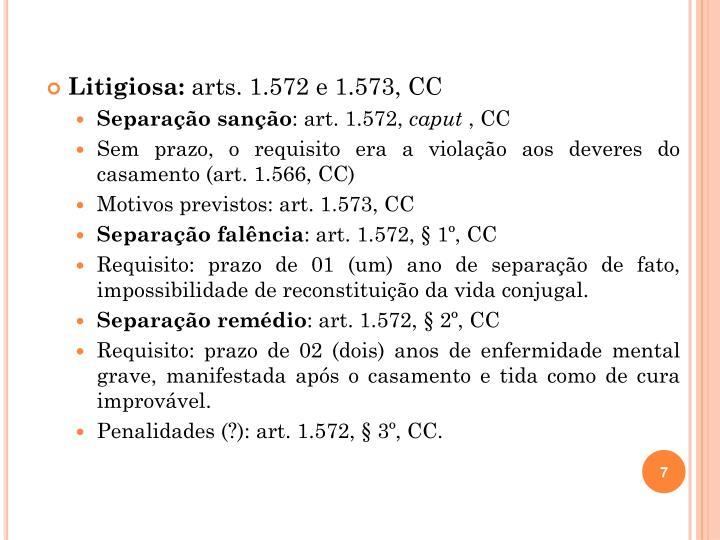 Litigiosa: