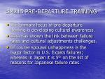 sm215 pre departure training1