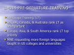sm215 pre departure training12