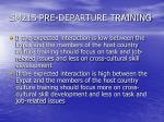 sm215 pre departure training5