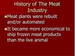history of the meat industry3