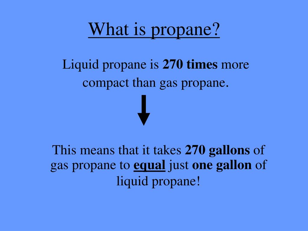 What Is Propane >> Ppt Propane Powerpoint Presentation Id 6019232