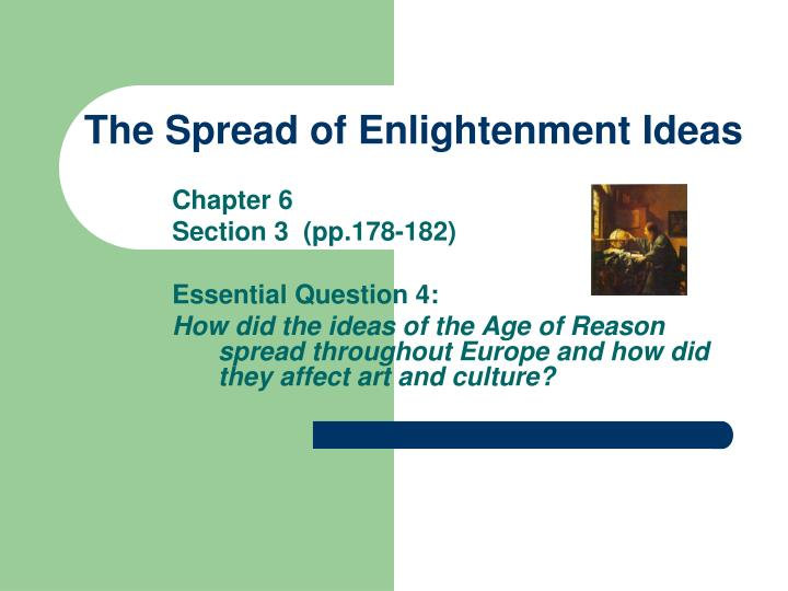 the enlightenment created a time of change for europe and america How did the enlightenment affect some rulers in europe  what led to change more, the enlightenment or the american • the constitution created a federal.