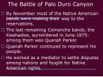 the battle of palo duro canyon1