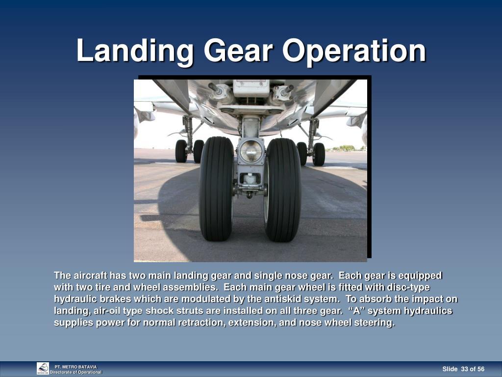 PPT - 737-300/400 LANDING GEAR PowerPoint Presentation - ID