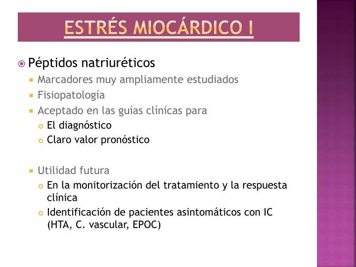 Estrés miocárdico I