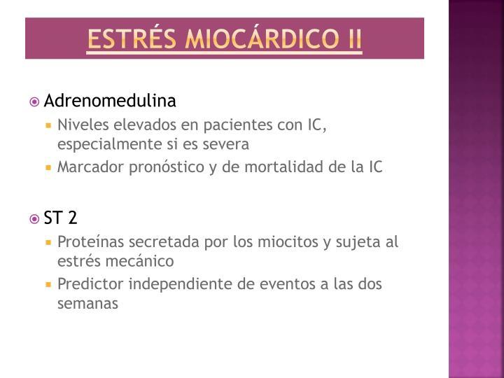 Estrés miocárdico II