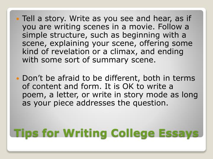 college essay presentation Self-presentation essay example: introduction the ability to manage impressions is an integral part in everyday life as individuals are able to alter people's perceptions according to how one sees or wants to be seen by others.