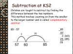 subtraction at ks2