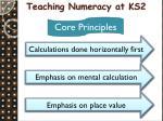 teaching numeracy at ks2