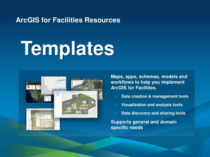 ArcGIS for Facilities Resources