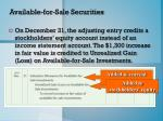 available for sale securities2