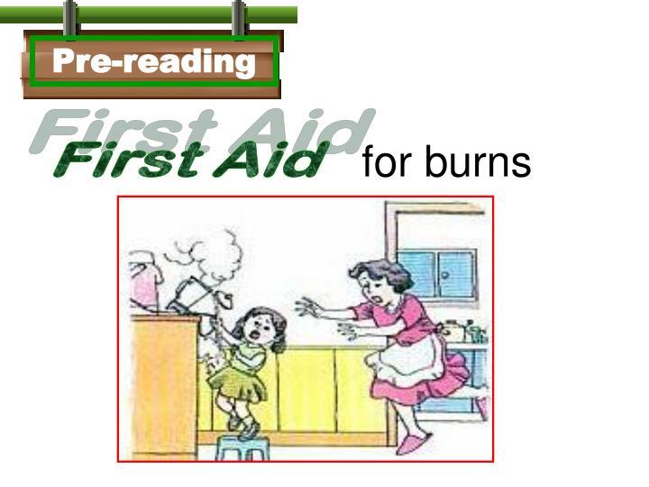 Pre-reading