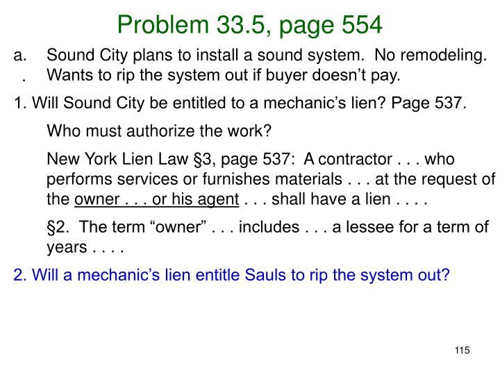 Problem 33.5, page 554