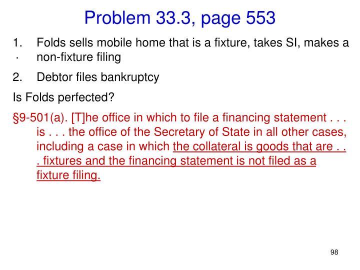 Problem 33.3, page 553