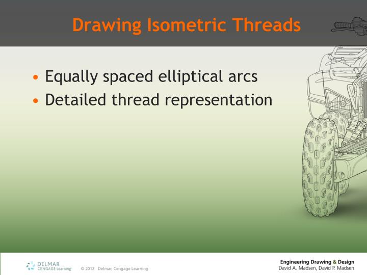 Drawing Isometric Threads