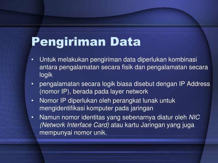 Pengiriman Data