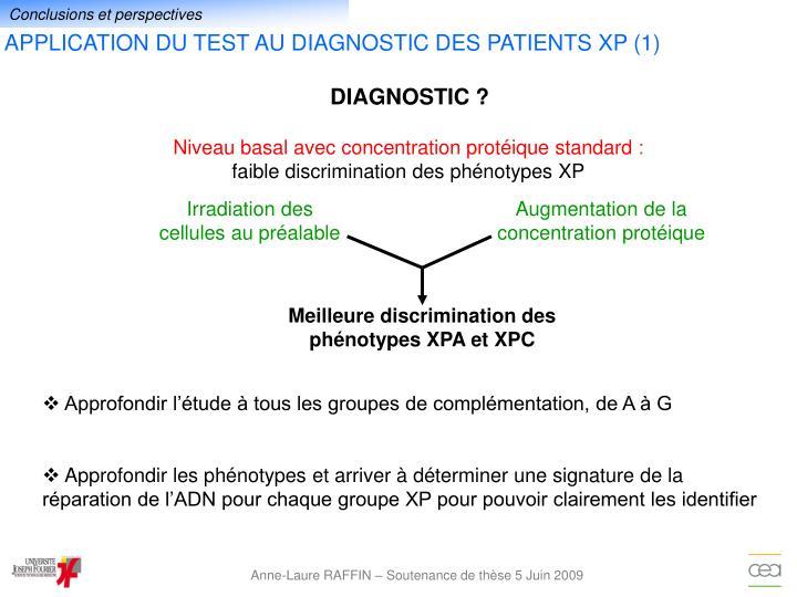DIAGNOSTIC ?