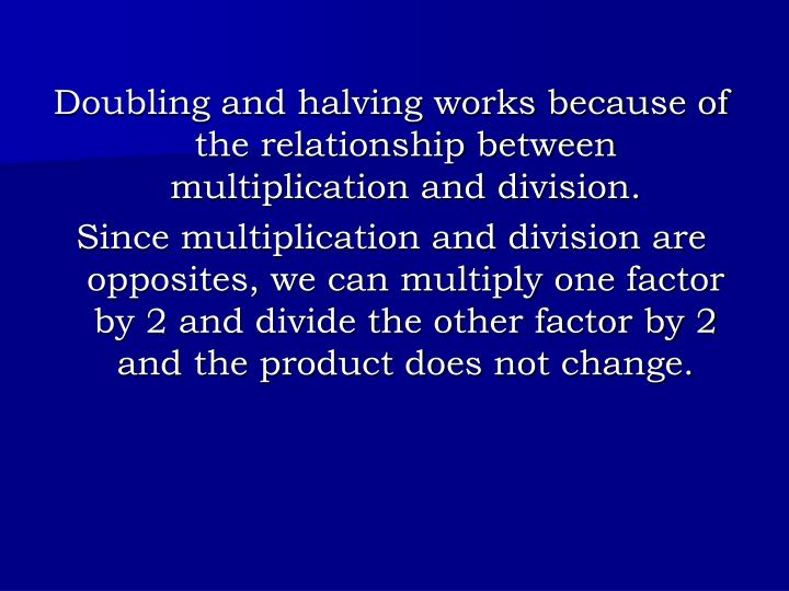 multiplication and division in different bases a relationship